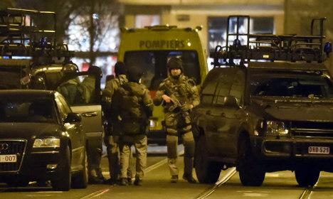 Brussels terrorist shot dead in raid 'lived in Stockholm'
