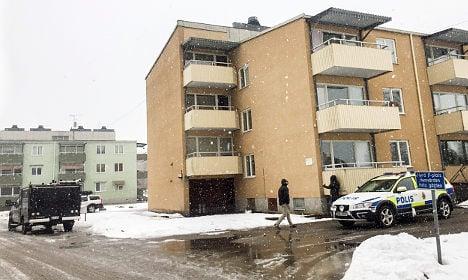 Three held for murder at Swedish asylum centre