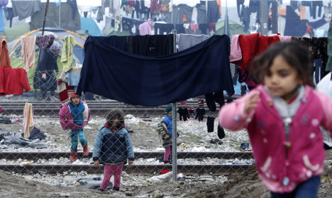 Sweden ready to send refugee aid to Greece