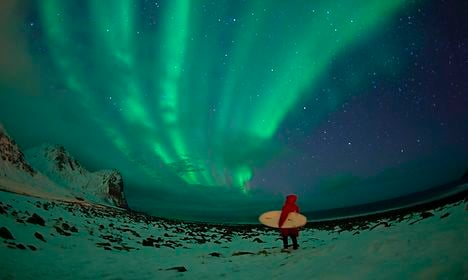 Norway home to unlikely Arctic surfing hotspot