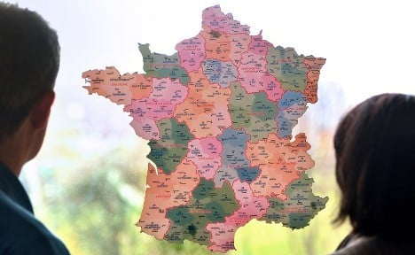 French regions' name changes lead to mockery