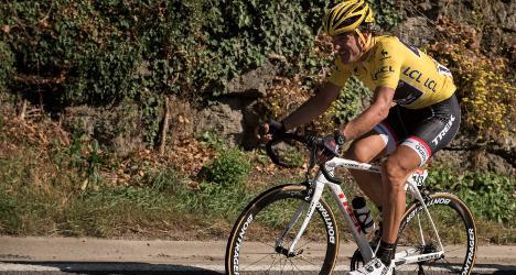Retiring Swiss cyclist wins Italian hat trick