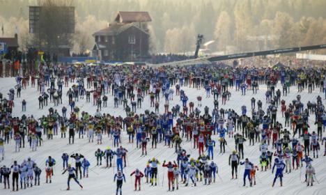 Norway's Dahl wins Sweden's huge cross-country marathon