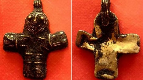 1,100 year-old Denmark crucifix 'may change history'