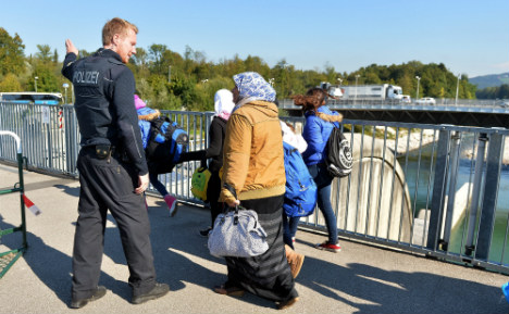 Bavarian town goes back to sleep as refugees disappear