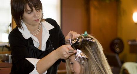 Hair salon told to protect burglars from hair bleach