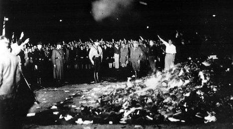 Five years for Nazi vandalism