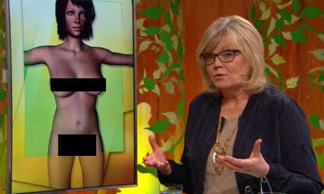 Why Swedes are in a huff about a giant penis on TV