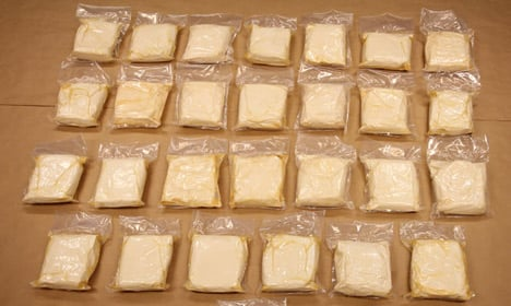 Norway customs agents tout record drug bust