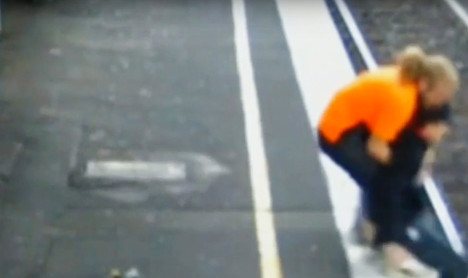Aussies hail Swede as hero after train-track rescue