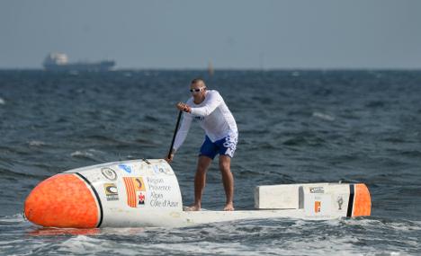 Frenchman attempts craziest crossing of Atlantic Ocean