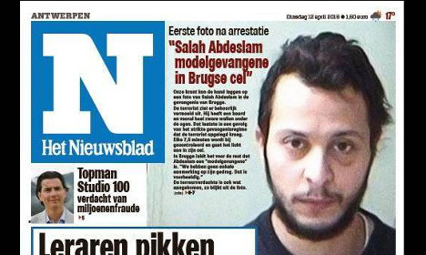 Photo emerges of 'model prisoner' Abdeslam in jail