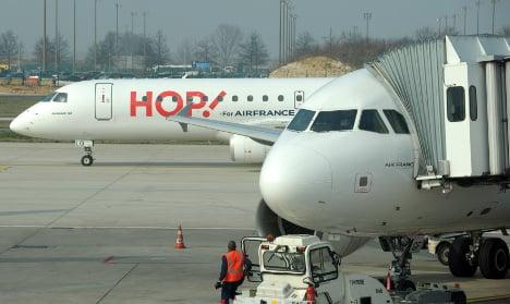 Panic on board Paris flight after 'terror scare'