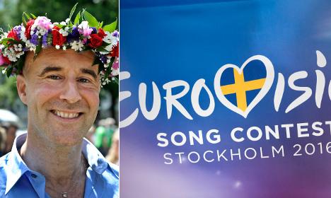 Swedish celeb's Eurovision dare: 'I wish Russia no good'