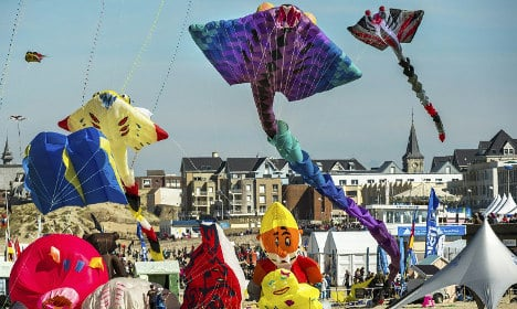 IN PICTURES: France's spectacular kite festival