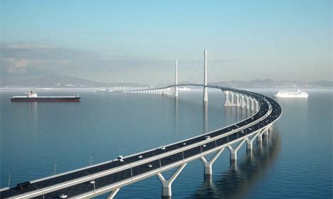 Danish firms to build giant new bridge in China
