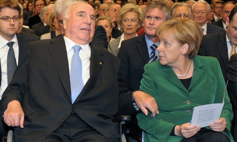 Europe can't take in millions: German ex-chancellor