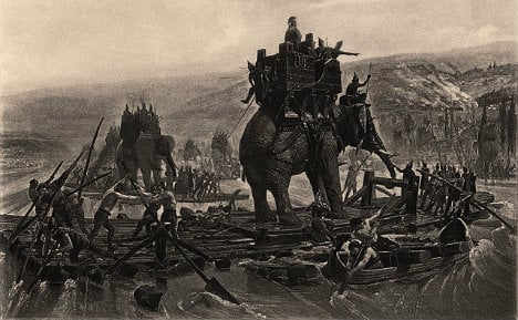 Ancient horse poo sheds light on Hannibal's route to Italy