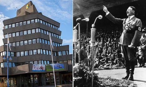 Nazi flag sparks anger in Sweden on Hitler's birthday