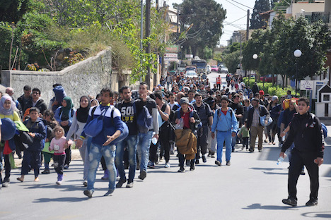 Greece struggles with migrant crisis