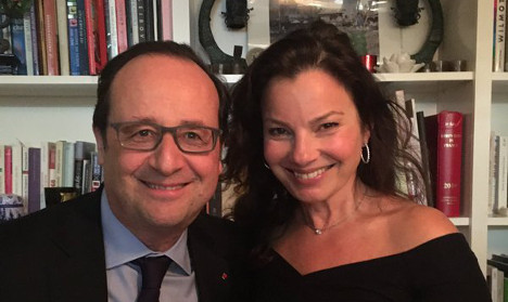 Why was Hollande dining with America's 'The Nanny?'