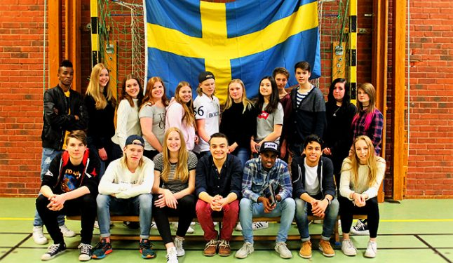 SNAPSHOT: Ghaith and his 'awesome' class in southern Sweden
