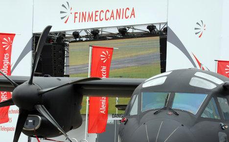 Finmeccanica in 'biggest ever' warplane deal with Kuwait