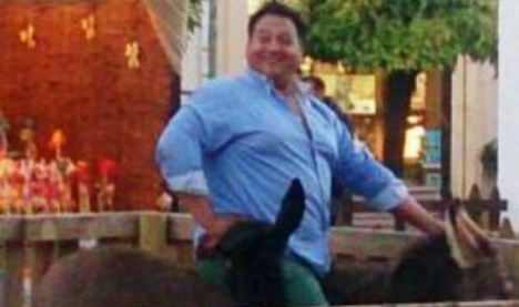 Fat man who crushed nativity donkey to death goes free
