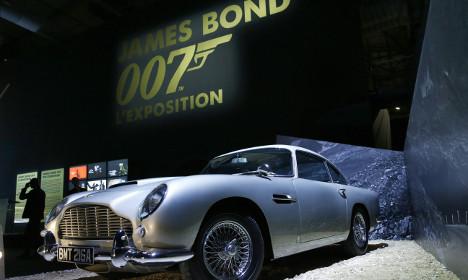 007: Giant James Bond exhibition comes to Paris