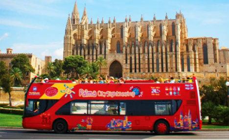 Mallorca graffiti fury: 'Tourists go home. Refugees welcome'