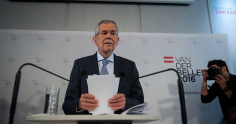 Austria's main parties lag behind in presidential race