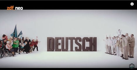 Comedian goes viral with 'Be Deutsch, Be Nice' video