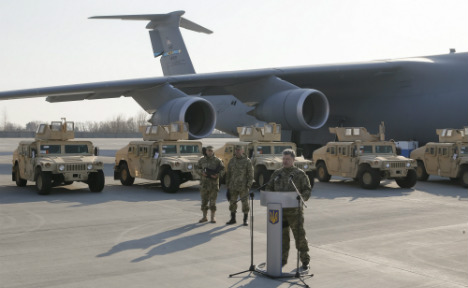 US air drop goes wrong as Humvees crash to earth
