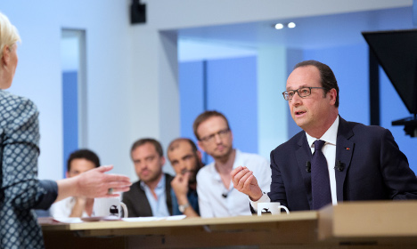 Doomed Hollande set for pointless 90-minute TV grilling