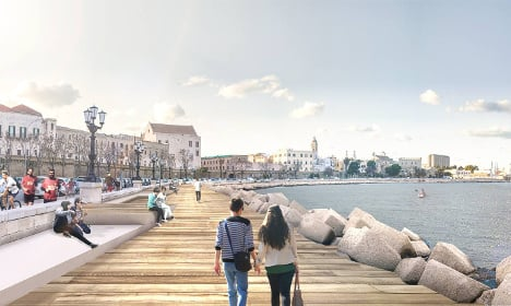 The next Copenhagen? Bari plans €7.9m seafront revamp