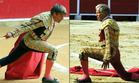Spanish bullfighters lock horns in paternity suit