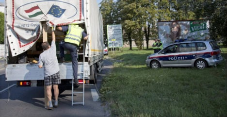 Austria's policy 'improving business for smugglers'