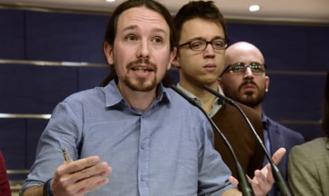 Podemos members rule out pact to form government