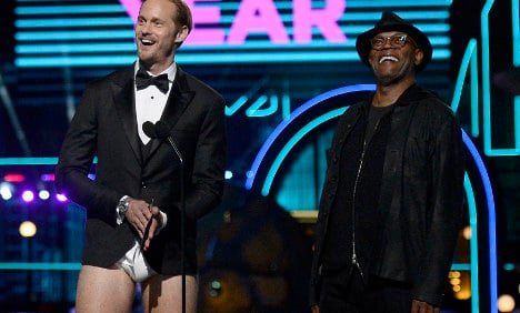 Fans go 'ahahaha' as Swedish Tarzan star drops trousers