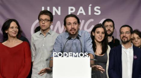 Podemos starts referendum on backing Socialist-led govt