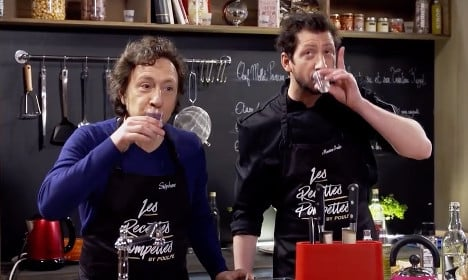 French health chief says 'non' to new boozy cooking show