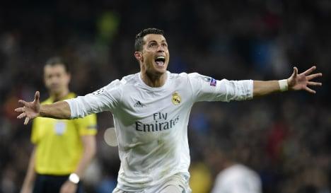 Hat-trick hero Ronaldo fires Real Madrid into semi-finals