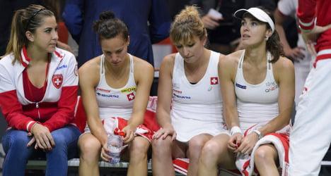 Czechs shatter Swiss dreams of Fed Cup final