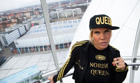 Swedish boxer's unusual demand: male eye candy