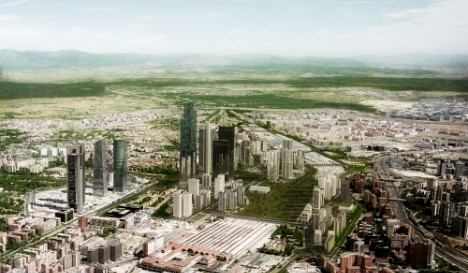 Europe's tallest skyscraper among six planned for Madrid