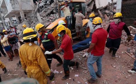 Italian businessman among 413 dead in Ecuador quake