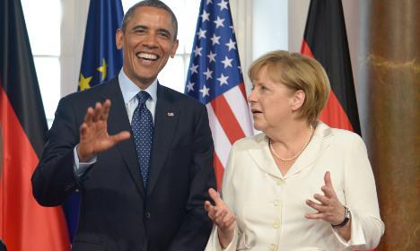Obama hails Merkel's 'courage' on migrants