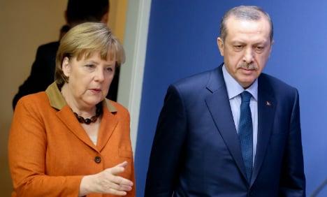 Merkel allows Erdogan's case against TV host to go ahead