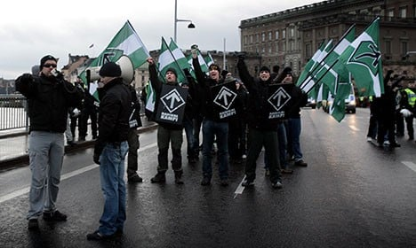 EU 'financing Nazi meeting in Stockholm'