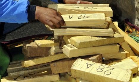 Spanish police find cocaine paste hidden in furniture